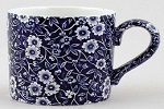 Burleigh Blue Calico Mug large
