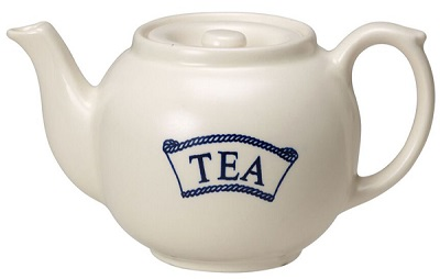 Burleigh Pantry Range Teapot Pale Dark small