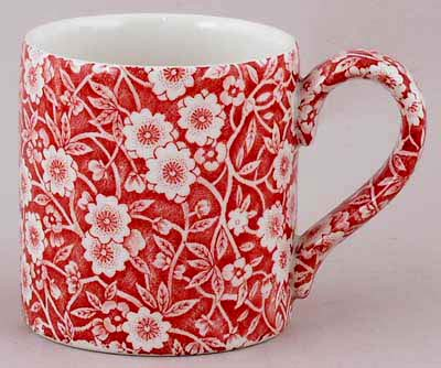 Burleigh Calico red Mug Small