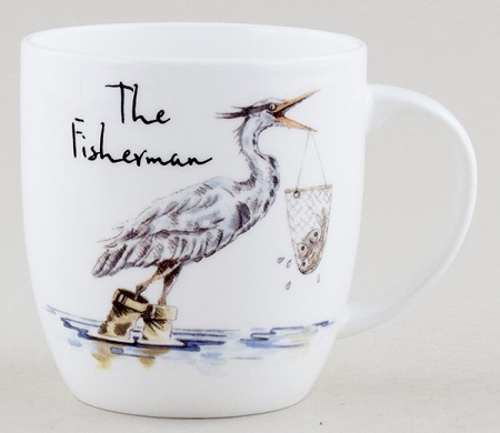 Churchill Country Pursuits Mug The Fisherman