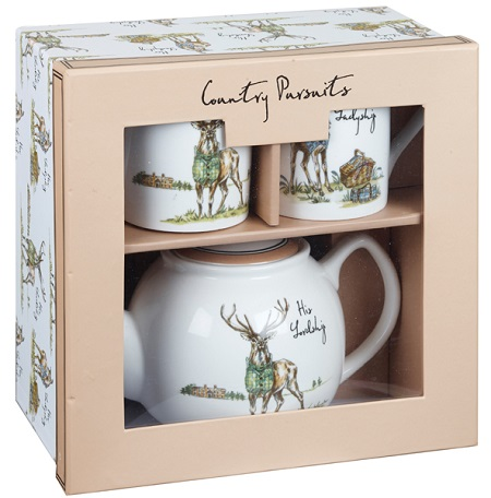 Queens Country Pursuits Tea for Two Lordship and Ladyship Giftset