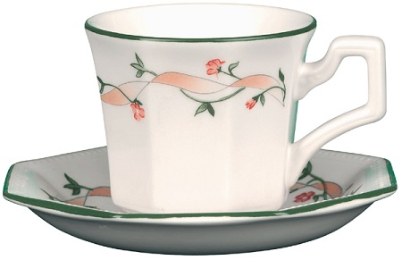 Johnson Bros Eternal Beau colour Coffee Cup & Saucer