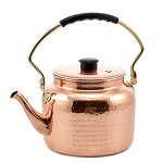 Hammered Decor Copper Tea Kettle