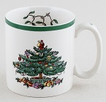 Spode Christmas Tree colour Mug