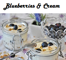 Blueberries and Cream Flavored Tea